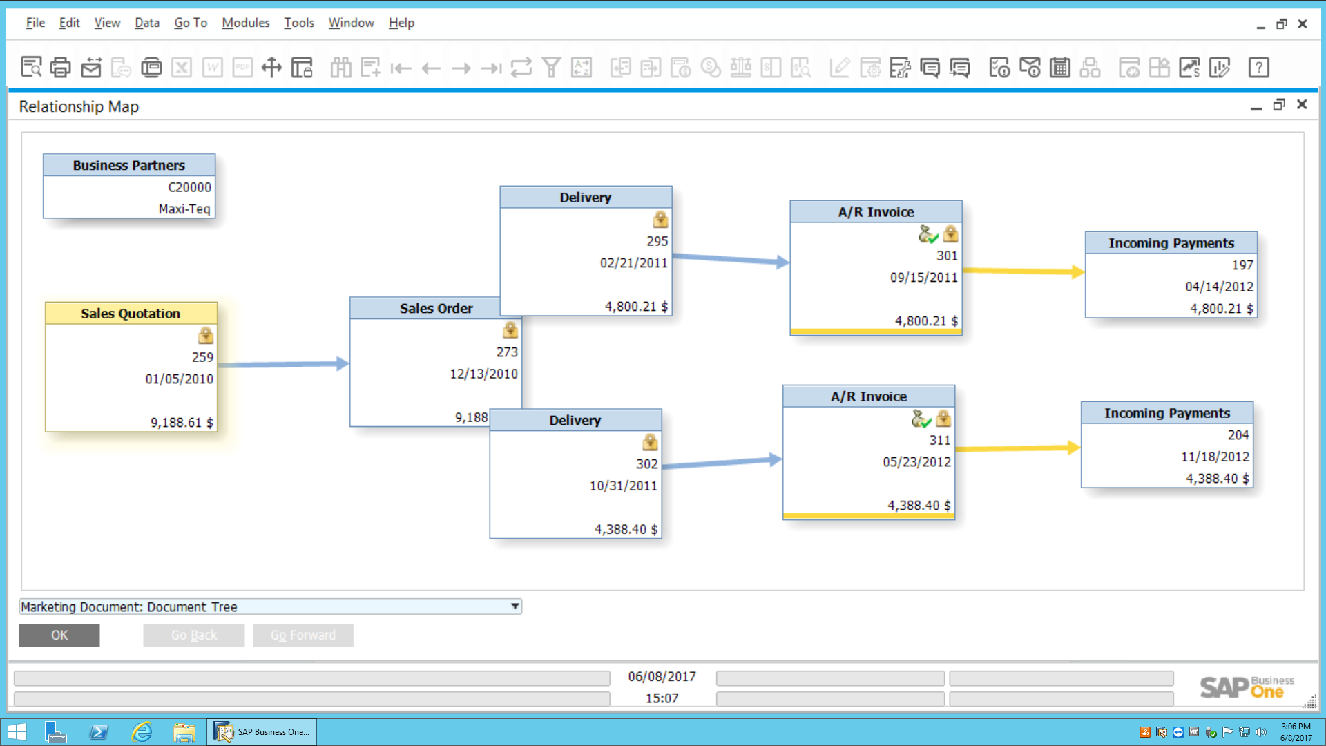 Relationship Map in SAP Busine...