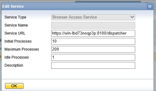 SAP Business One Browser Access setup