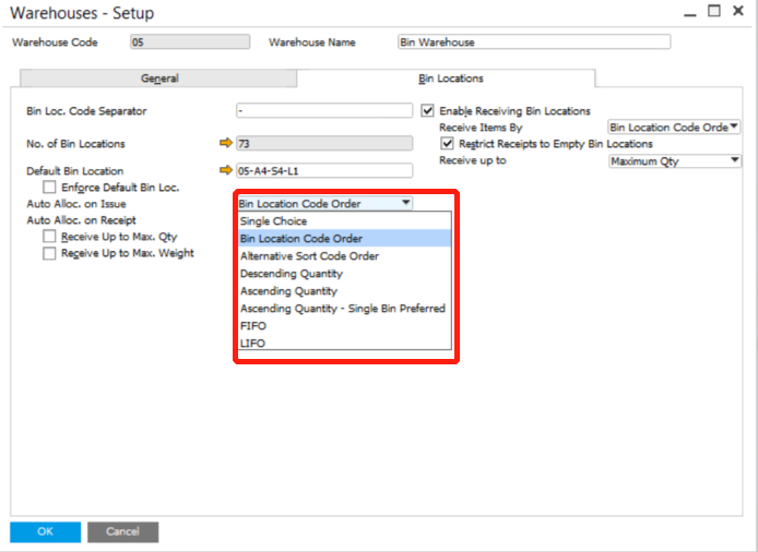 automatic allocation in sap business one sap b1 mtc systems